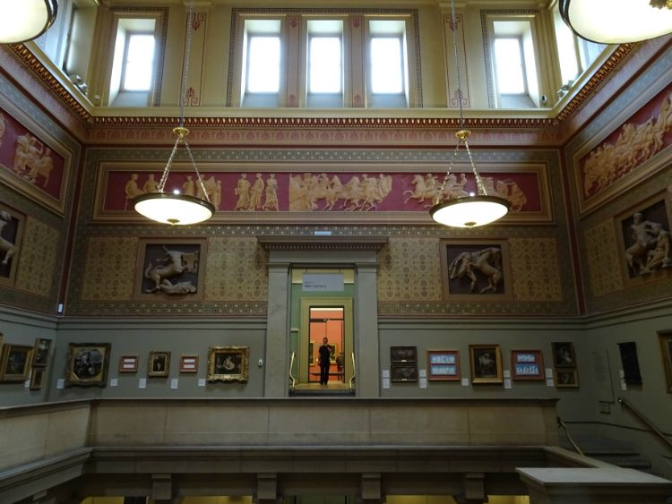 Manchester Art Gallery interior