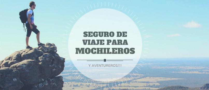 SEGURO PARA MOCHILEROS
