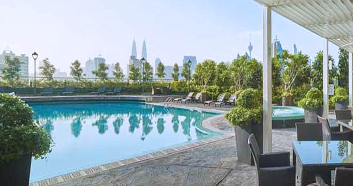 Sunway Putra Hotel vistas