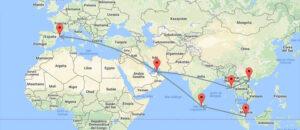 Volar a Asia con Emirates ¿Cómo sacar el máximo provecho? II