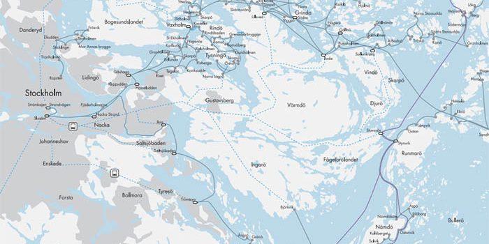 Paseo Low Cost en barco por las islas de Estocolmo
