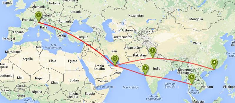 vuelos con etihad a asia