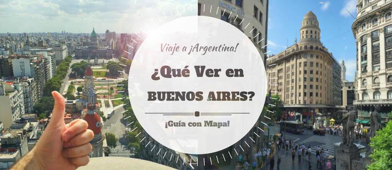 ¿Qué Ver en BUENOS AIRES? Guía (con MAPA)