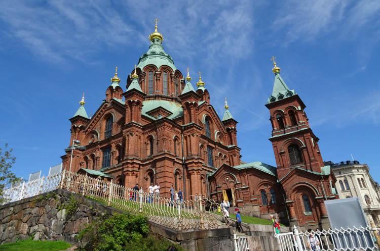 que ver en helsinki Catedral Uspenski