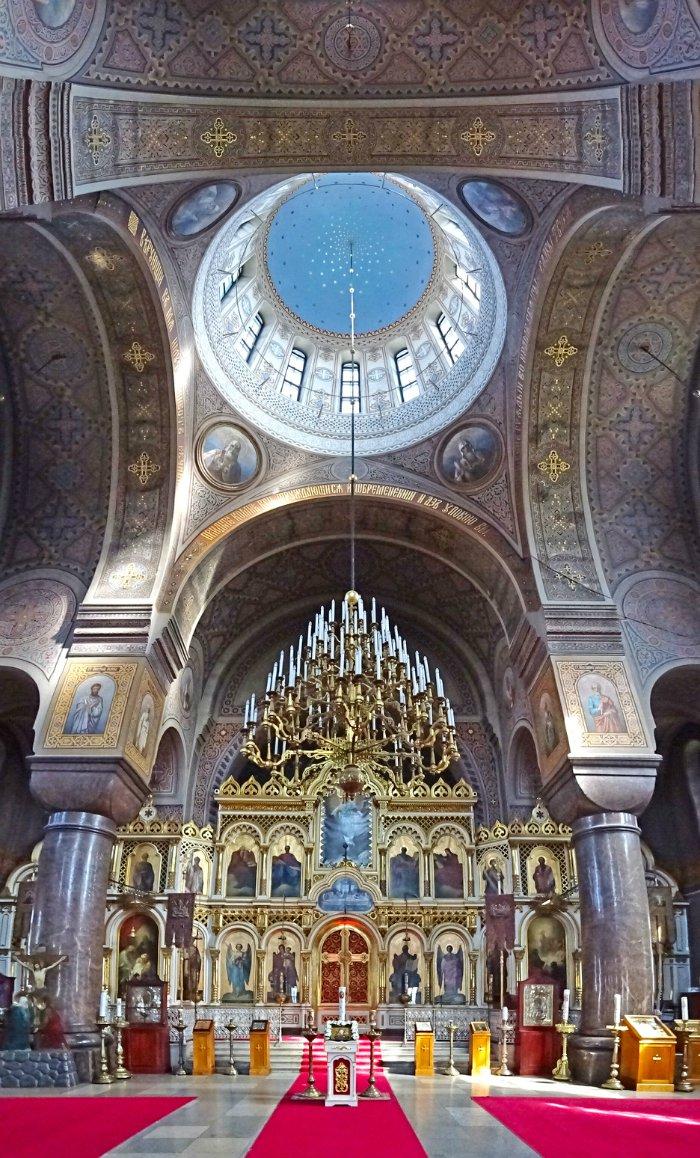 que ver en helsinki catedral interior cupula