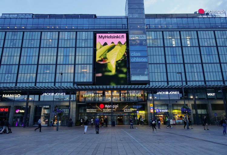 que ver en helsinki centro comercial kamppi