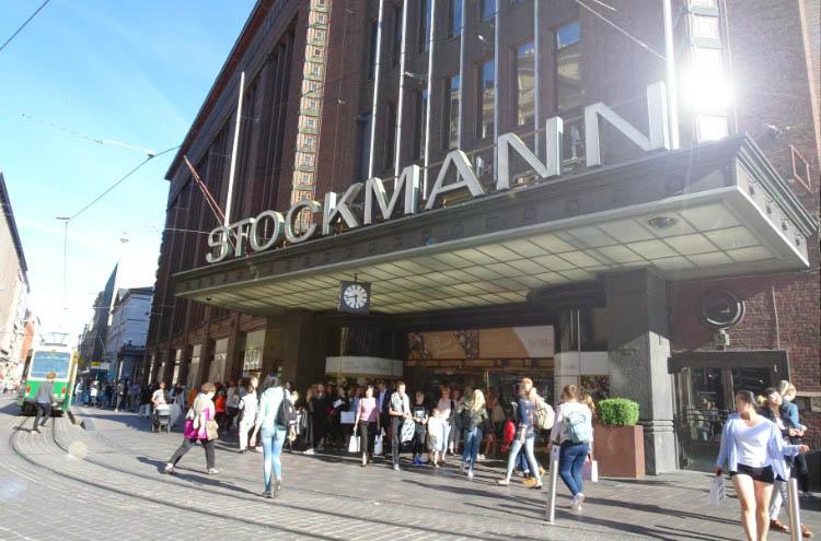 que ver en helsinki centro comercial stockman