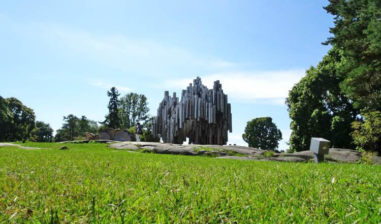 que ver en helsinki escultura sibelius