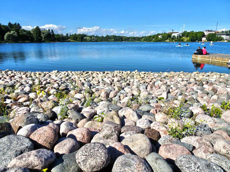 que ver en helsinki lago