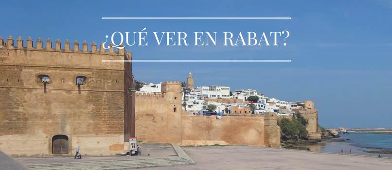 ¿Qué hacer en Rabat? [Turismo a Marruecos]