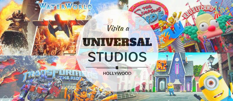 Visita a UNIVERSAL STUDIOS en Los Ángeles [así es el Tour de los Estudios y las Mejores Atracciones]