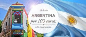 Volar a Argentina por SOLO 103 euros (desde BCN) ¡Así lo he conseguido!