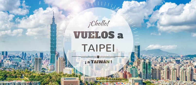 Vuelos (Baratos) a TAIPEI (Taiwán) desde SOLO 188 EUROS/Trayecto