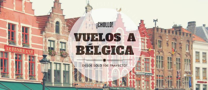 vuelos a belgica desde nueve euros