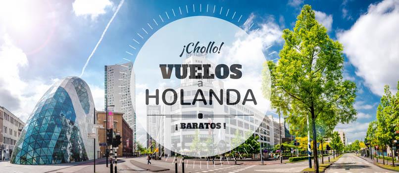 Vuelos (Baratos) a HOLANDA desde SOLO_10_EUROS trayecto!