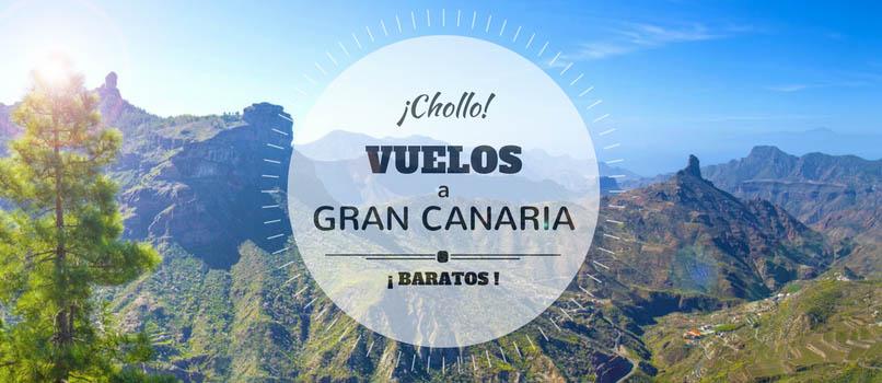 Vuelos (Baratos) a Gran Canaria desde la Península desde ¡SOLO_41_EUROS!