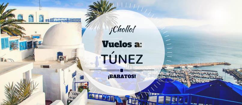 Vuelos (Baratos) a Túnez Cartago (TUN) desde SOLO 60€ trayecto