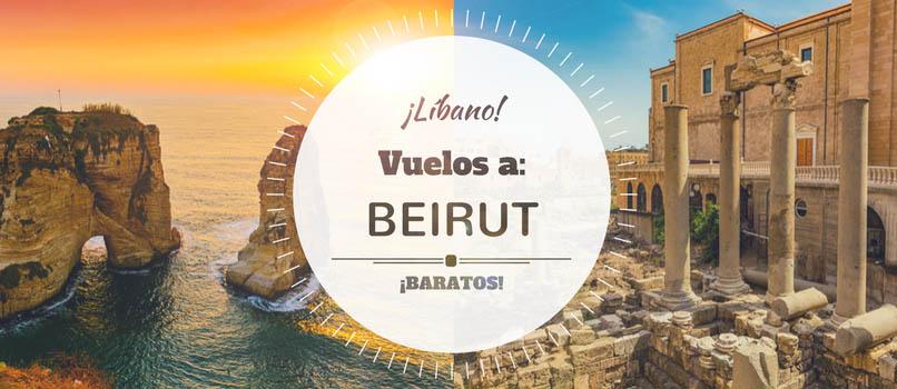 Vuelos (Baratos) a Beirut [Líbano] desde SOLO_95€ trayecto-directo