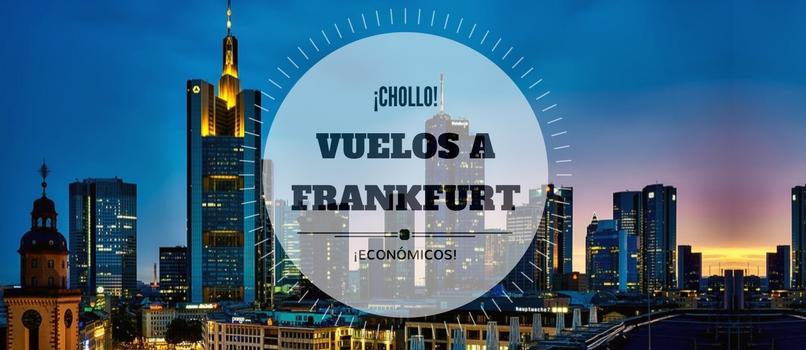 Vuelos Barcelona Frankfurt