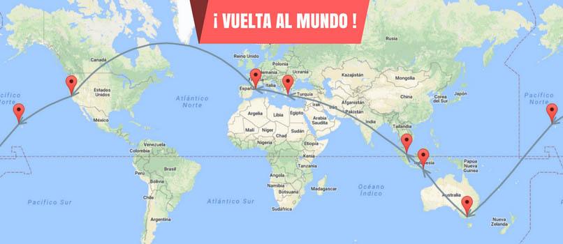 Vuelta al mundo econ mica en 2018 vuelos desde solo for Vuelos barcelona paris low cost